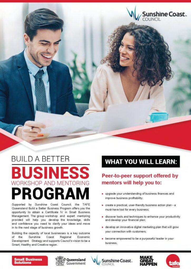 Build a Better Business  - Business Mentoring Program